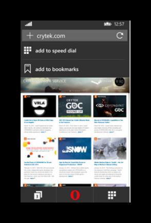 главная страница windows phone