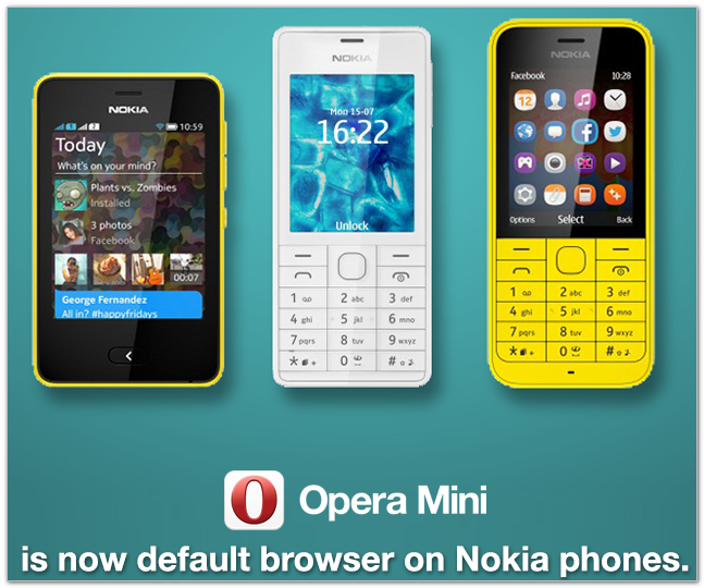 OPera на Nokia